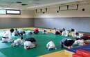 Dernier cours de baby judo pour l'année bien sûr !